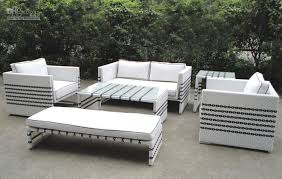 White Patio Furniture Sets White Outdoor Furniture My Apartment Story