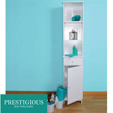 Bathroom Tall Cabinet by Buy Prestigious Bathrooms Tall Boy Cabinet At Home Bargains
