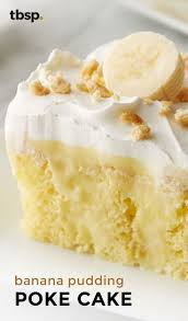 check out banana pudding poke cake it u0027s so easy to make moist