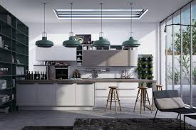 Linear Kitchen by Design Modern Style Rounded Accents To Complement Linear Kitchen