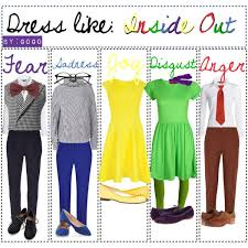 inside out costumes dress like the characters of inside out gogo by the disney geeks