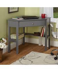 Corner Writing Desk Deals On Corner Writing Desk Finish Gray