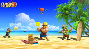 clash of clans hd wallpapers funny clash of clans barbarian wallpaper www mobilga com clash