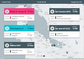 San Jose Google Maps by Transport Tracker Map