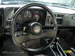 Gmc Interior Parts 1991 Gmc Syclone Standard Syclone Model 1991 Gmc Syclone Black