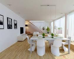 white dining room white