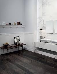 Bathroom With Wood Tile - best 25 dark floor bathroom ideas on pinterest carrera glasses