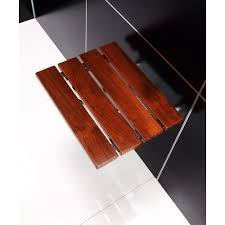 Bathroom Benches Bathroom Wonderful Curved Teak Shower Bench With Shelf For