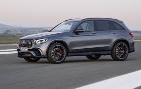 mercedes 63 amg suv mercedes amg glc 63 revealed most powerful suv in the class