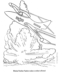 military jet coloring pages