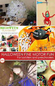 tot ideas halloween activities for toddlers and