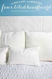 Faux Headboard Ideas by Quick And Easy Temporary Headboard Alternative Bedrooms And