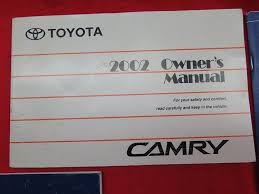 amazon com 2002 toyota camry owners manual toyota automotive