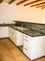 credence cuisine blanc laqu plan de travail blanc laqu plan de travail blanc laque avec