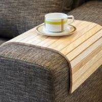 Sofa Armrest Cover by Wooden Sofa Arm Covers Dynaboo Co