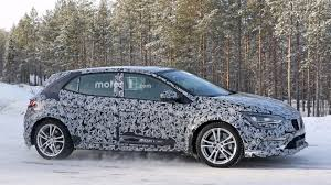 renault sport rs 2018 renault megane rs spied testing underneath gt body