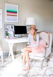 Chic Home Office Desk Best 25 White Desk Office Ideas On Pinterest White Office