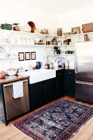 Rug In Kitchen With Hardwood Floor Kitchen Extraordinary Modern Kitchen Trends Best Rug Ideas On