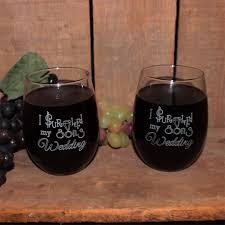 i survived my s wedding i survived my sons wedding 21 oz stemless wine glass set