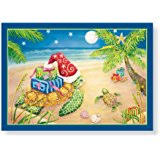 Nautical Themed Christmas Cards - amazon com great papers holiday greeting card beach wreath 18