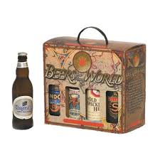 pak it products beers from around the world 8 pack gift box