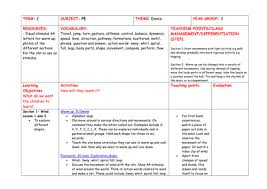 weather dance termly plan for year 3 by amybonello teaching