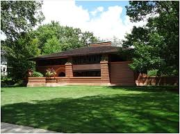 Wright Style House Plans » Inspirational Arthur B Heurtley House