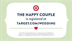 wedding registry inserts target wedding gift registry wedding gifts wedding ideas and