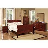 amazon com sleigh bed bedroom sets bedroom furniture home