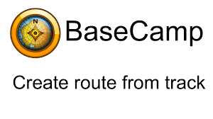 Map My Run Create Route by Garmin Basecamp How To Create A Route From A Track Youtube