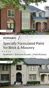 355 best painted brick exteriors images on pinterest exterior