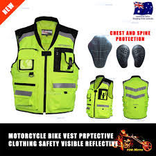 safest motorcycle jacket motorbike hi vis vest motocrow reflective safety vest motorcycle