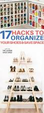 17 shoe storage ideas to organize your cluttered space diy room