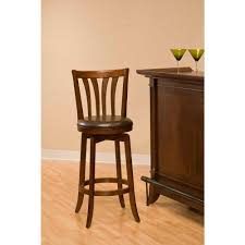 Swivel Counter Stools With Back Hillsdale Furniture Savana 43 5 In Cherry Swivel Cushioned Bar