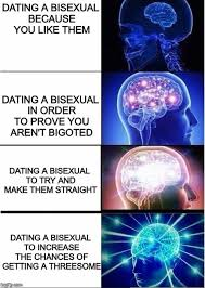 Bi Sexual Memes - how come nobody thought of this before expanding brain know