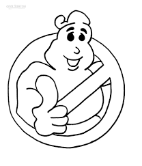 ghostbuster coloring pages free ghostbuster coloring pages within