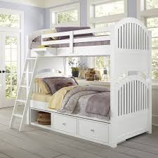 4 Bed Bunk Bed District17 White Beach House Adair Bunk Bed Bunk Beds