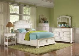 Candiac Upholstered Bedroom Set Riverside Placid Cove 4pc Arch Bedroom Set In Honeysuckle White