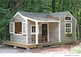 image of small cabin