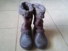womens boots size 9 womens crocs boots ebay