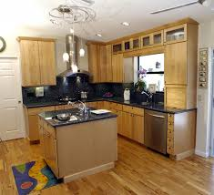 Mixed Wood Kitchen Cabinets Painted Kitchen Cabinets With Natural Wood Doors U2013 Quicua Com