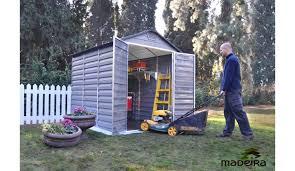 abris de jardin madeira abri de jardin en polycarbonate madeira lasty 3 77 m