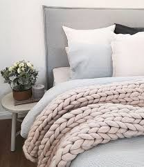 Throws For Sofa by Best 20 Chunky Knit Throw Ideas On Pinterest Chunky Blanket