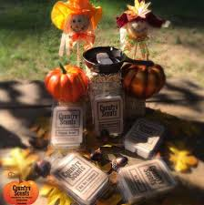 fall is in the air here at country country scents candles