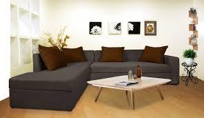 Brown Fabric Sofa Set Dolphin Cairo L Shape Right Fabric Sofa Set Grey Brown