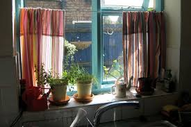 Stylish Kitchen Curtains by Rainbow Stripes Kitchen Curtain Mama Needs To Know Pinterest
