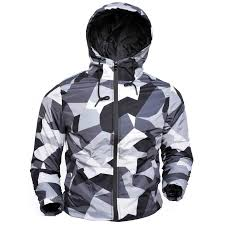 haphazard grey and black haphazard print jacket