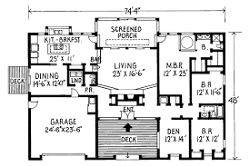 2500 sq ft house plans single story contemporary house plan 3 bedrooms 2 bath 2500 sq ft plan 46 581
