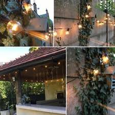 Vintage Patio Lights 25ft Globe Outdoor String Lights Vintage Patio Lights With 25