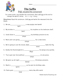 suffix worksheets have fun teaching